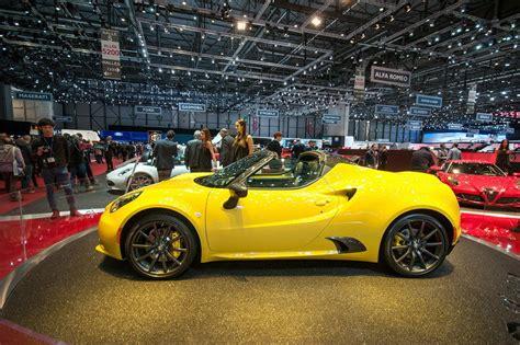 2016 Alfa Romeo 4c Spider Review