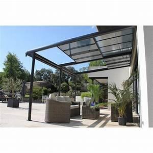 tonnelle pergola toiture de terrasse leroy merlin With toile pour terrasse exterieur 12 tonnelle adossee beige 4x3 m pas cher