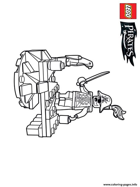 lego pirates  boys coloring pages printable