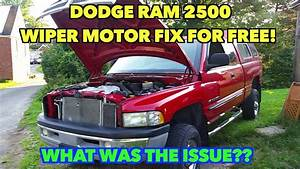 Dodge Ram Wiper Motor Fixed  Cost     0 Cents