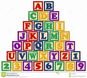 wooden alphabet blocks eps stock vector illustration of With blocks with letters on them