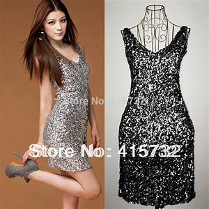 Disco Outfit 2017 : buy free shipping 2017 sexy v neck fashion mini disco dress paillette elastic ~ Frokenaadalensverden.com Haus und Dekorationen