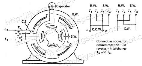Electrical Control Circuit Schematic Diagram Capacitor
