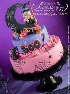Cute Halloween Birthday Cake