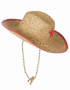 Chapeau De Paille Enfant : chapeau cowboy de l 39 ouest en paille enfant deguise toi ~ Melissatoandfro.com Idées de Décoration