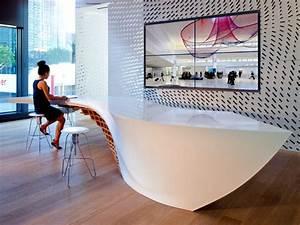 Innovative table design for reception room Interior