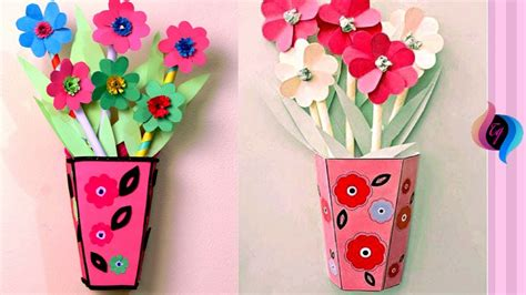 Paper flowers can make a beautiful decoration for birthdays, weddings, reunions, parties, and bridal or baby showers. Paper flower wall hanging - Simple Paper flower and ...