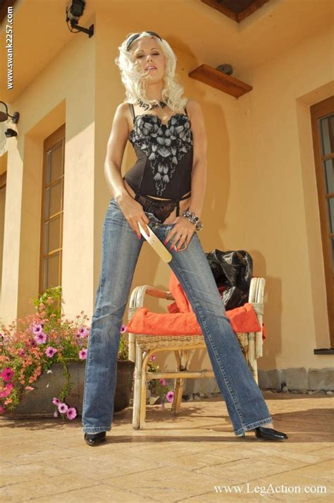 lola myluv blonds1 stockings outfit bell bottoms pants