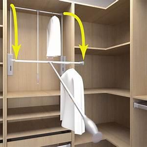 Tringle Pour Dressing : accessoire pour penderie dressing ~ Premium-room.com Idées de Décoration