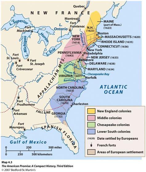 blank map   original colonies printable blank map