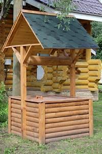 Palette Bois Gratuite : un puits en bois image stock image du logs wooden ~ Melissatoandfro.com Idées de Décoration