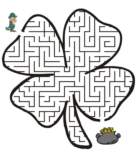 st patricks day  printable kids activities