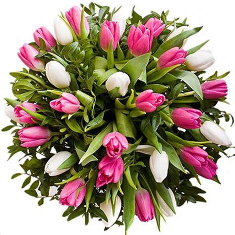 Ziedu piegāde | Tulpju pušķis: Pavasara apskāviens