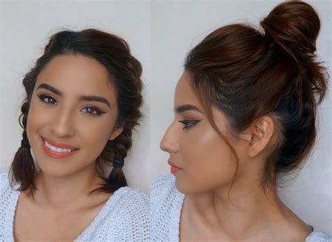 5 Heatless Hairstyles For Short Hair // Quick & Easy