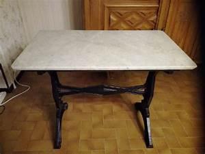 Table Plateau Marbre : table marbre pieds clasf ~ Teatrodelosmanantiales.com Idées de Décoration