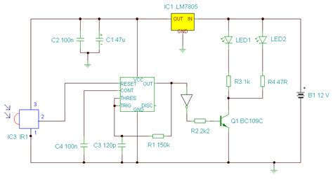 Remote Control Extender Circuit Mark Infrared