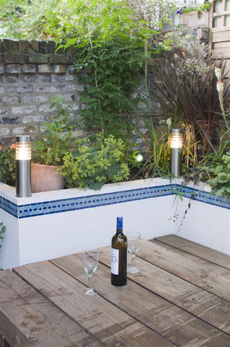moroccan courtyard garden  east london