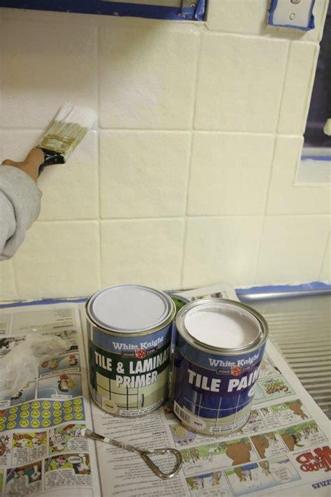 painting tile backsplash ideas  pinterest