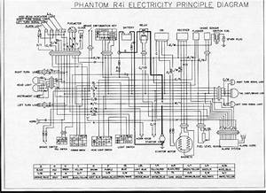 Vento Phantom Scooter Wiring Diagram