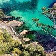 Coromandel coast NZ | Bay of islands, Barrier island, Surf ...