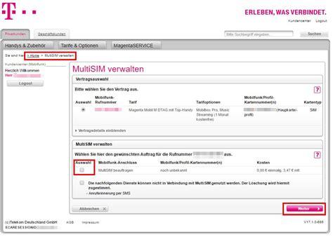 Telekom: Zweite SIM-Karte beantragen - so geht's - CHIP