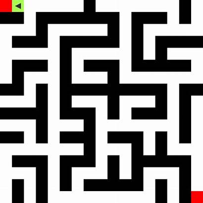 Maze Path Finding Does Giphy Cellular Solving
