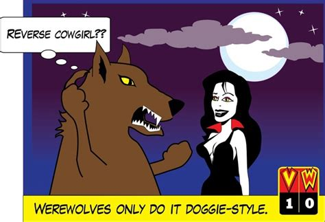 Vampires Vs Werewolves  The Brophisticate
