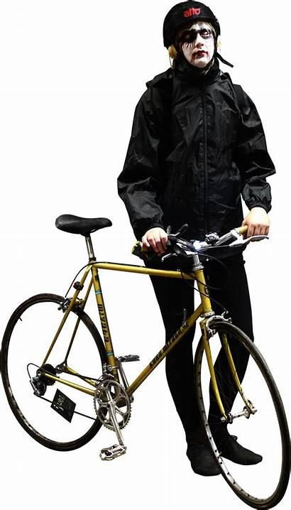 Photoshop Bike Cut Cyclist Skalgubbar Halloween Bikerace