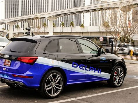 Car Deals For Drivers - delphi s self driving car deals with rude drivers in vegas