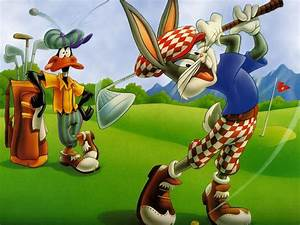 My Free Wallpapers - Cartoon Wallpaper Bugs Bunny - Golf