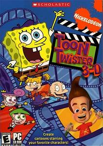 Nickelodeon Toon Twister 3 D Encyclopedia Spongebobia