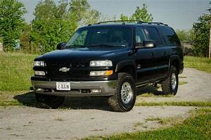 Sell Used 2003 Chevrolet Suburban Lt K2500 3  4 Ton 4wd  8 1l 496  Black With Leather In Carmi