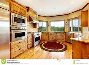 Maison Americaine Interieur : int rieur la maison de luxe en bois de cuisine maison ~ Zukunftsfamilie.com Idées de Décoration