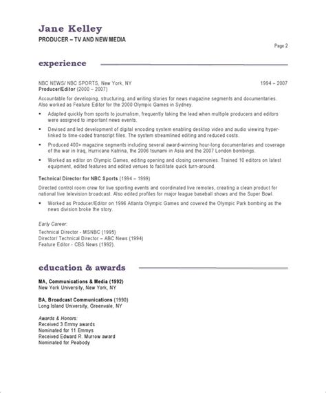 Introduction To A Resume by Sle Resume Introduction Sle Resume