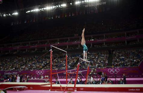 gimnasia artistica categoria femenina barras asimetricas