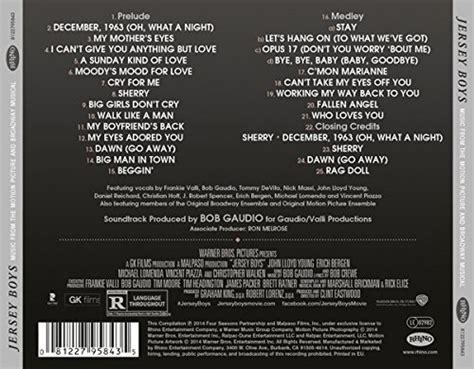 jersey boys trilha sonora  tudo sobre seu filme