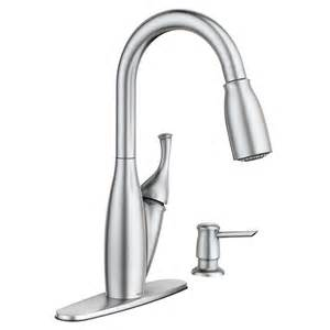moen pull kitchen faucet moen kendall spot resist stainless 1 handle pull sink counter mount traditional kitchen