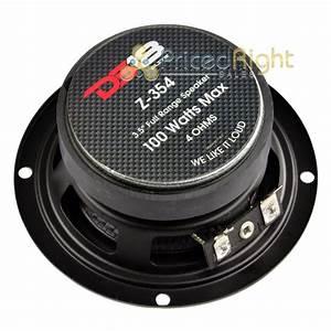 3 5 U0026quot  Mid Hi Range Speaker 100 Watts Max Power Replacement