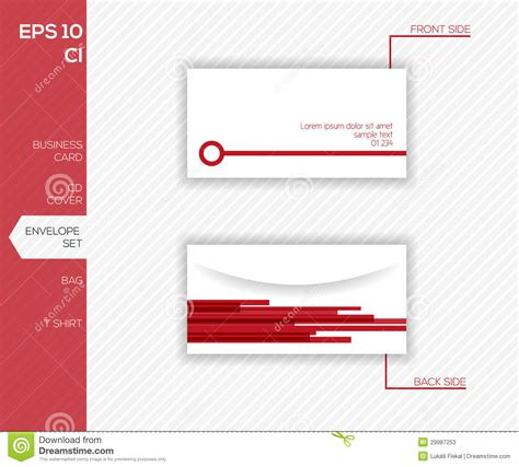 envelope design template corporate identity design for business envelope stock photos image 29987253