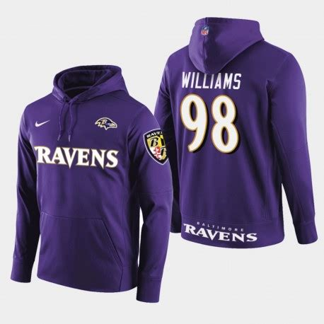 Männer Baltimore Ravens # 98 Brandon Williams New Season ...