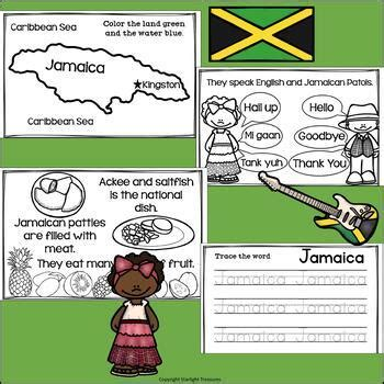 jamaica mini book  early readers  country study