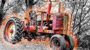 Old Tractors - First Start In Many Years