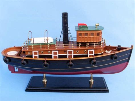 Wholesale Boats by Buy Wooden River Rat Tugboat Model Wholesale Wholesale