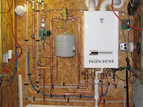 get a new navien water heater supplied and installed by