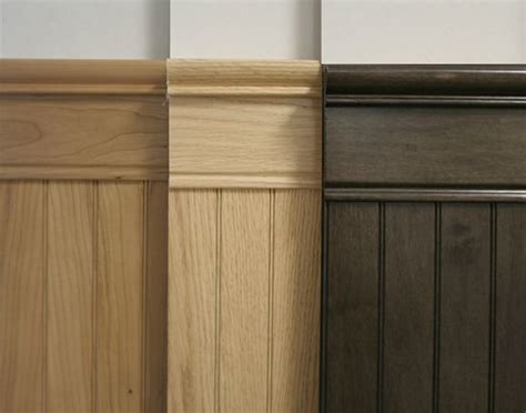 Oak Beadboard : Stain Grade Hardwood Bayside Beadboard