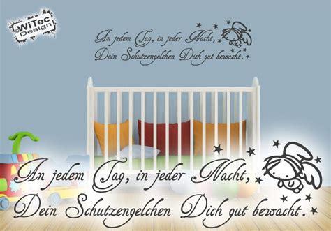 Wandtattoo Kinderzimmer Engel by Wandaufkleber Schutzengel Wandtattoo Reim Spruch