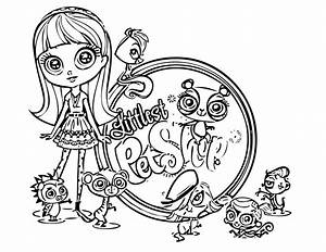 Littlest Pet Shop Coloring Pages Best Coloring Pages For