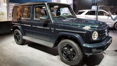 2019 Mercedesbenz Gclass Blitzkriegs Detroit! News