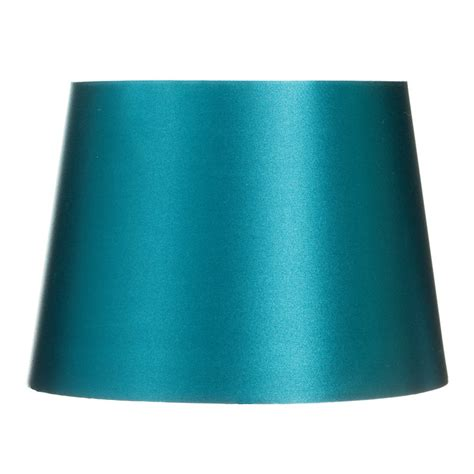 teal and white l shade b m gt satin l shade 9 quot 273117