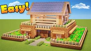 Minecraft: How to Build a Survival House - Wooden House ...